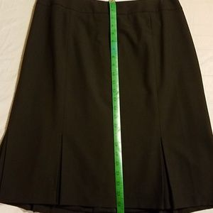 NWT Talbots Skirt w/box pleats